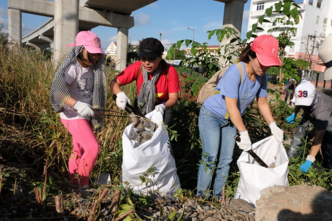 Trashpacking in Vietnam – a growing trend