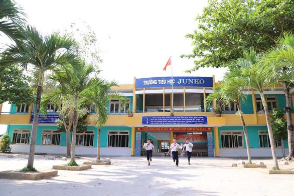 Elementary school in Vietnam named after Japanese benefactor