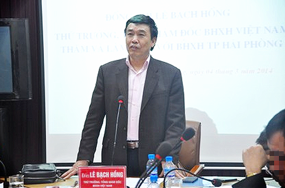 Police request prosecution against former deputy minister for violations at Vietnam Social Security