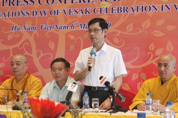 Bui Quang Cam, vice-chairman of the Ha Nam People's Committee. Photo: Thien Dieu / Tuoi Tre