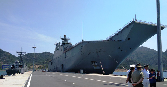 Royal Australian naval ships commence goodwill visit to Vietnam