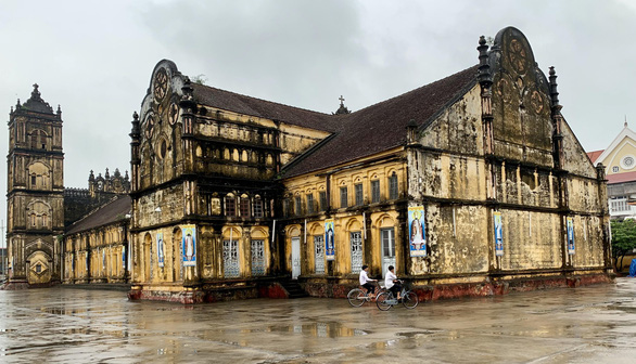 The Bui Chu Cathedral in Nam Dinh Province, Vietnam. Photo: Ngoc Quang / Tuoi Tre