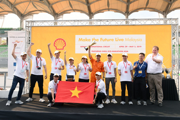 Vietnamese students to compete in London energy-saving car race