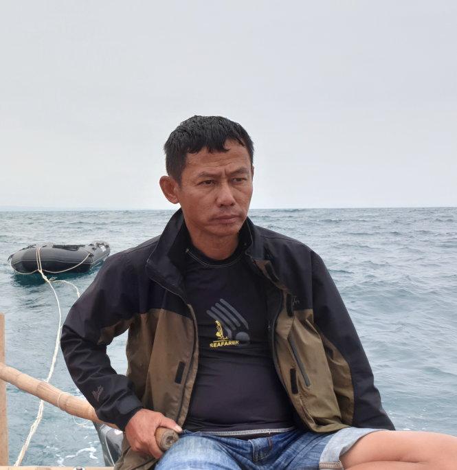 Do Nguyen Ai, the leader of Bamboo Raft Team. Photo: Bamboo Raft Team