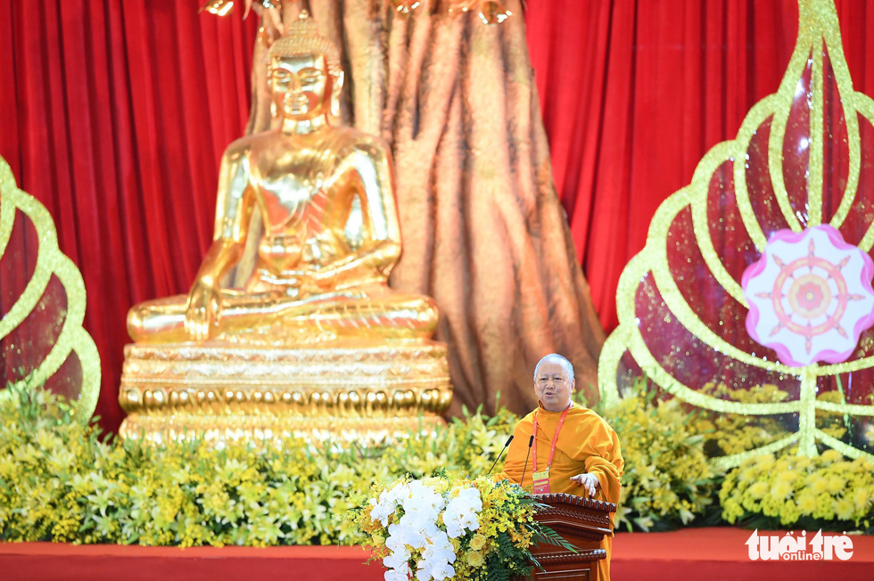 Most Venerable Phra Brahmapundit, president of the International Council for the Day of Vesak