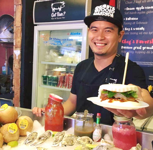 Young cook puts fresh twist on old school street eats in Saigon