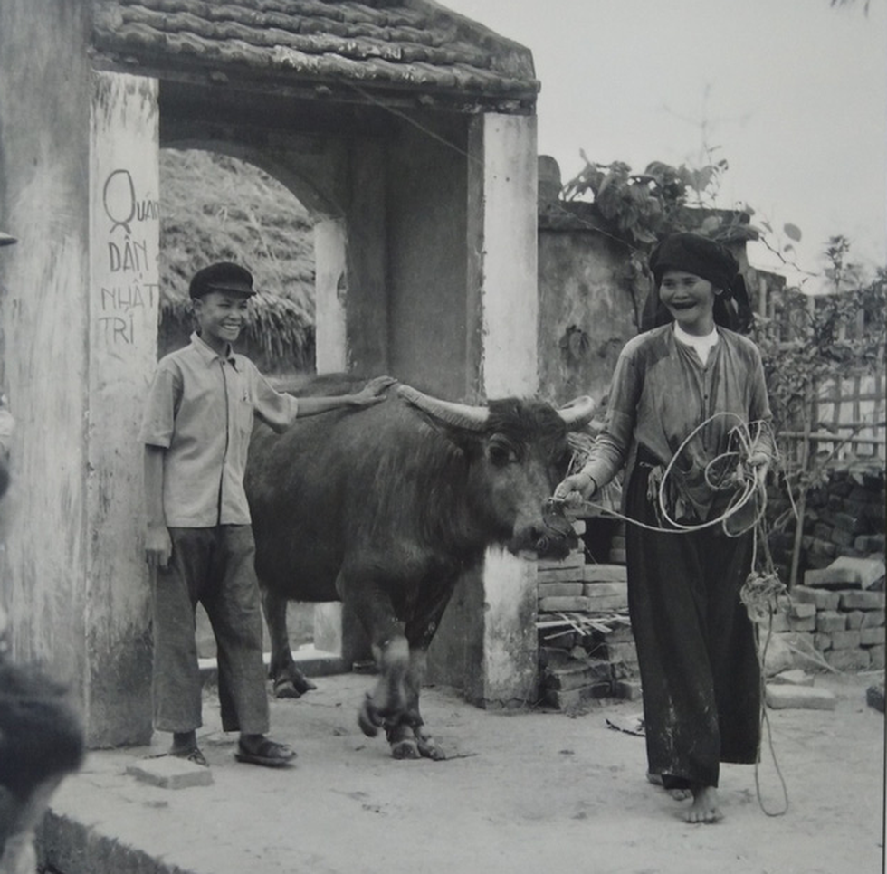A photo taken by Wilfred Burchett of northern Vietnam in the 1950s.