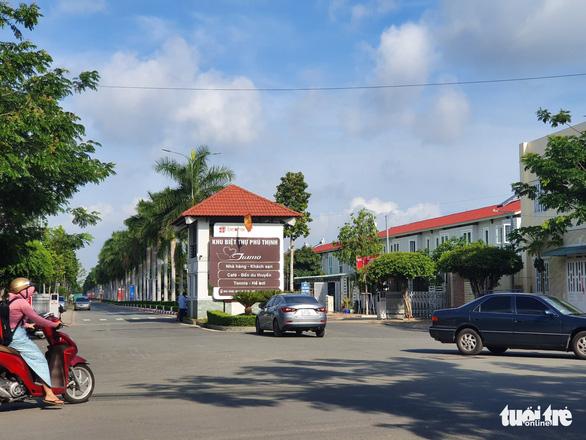 The residential area where the four women had been hiding.  Photo: Ba Son / Tuoi Tre