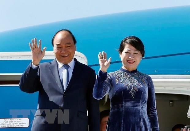 Vietnam PM Nguyen Xuan Phuc begins Russia visit