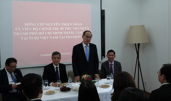 Ho Chi Minh City Party chief visits Germany during European tour