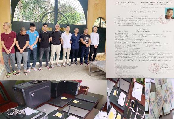 Police break up $172mn online gambling ring in north-central Vietnam