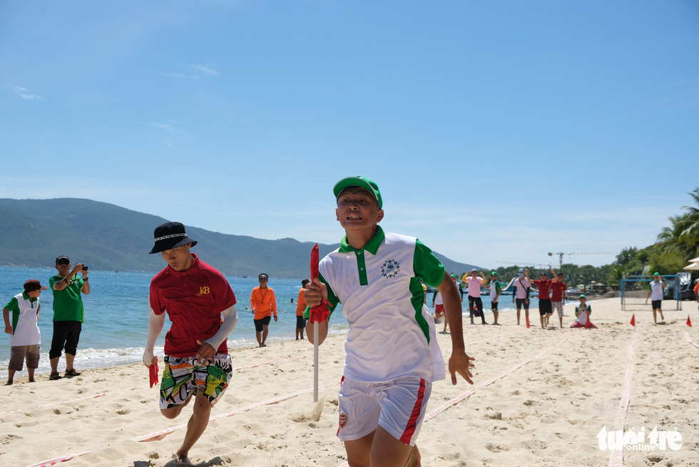 In Vietnam, disabled kids celebrate Children's Day on resort island