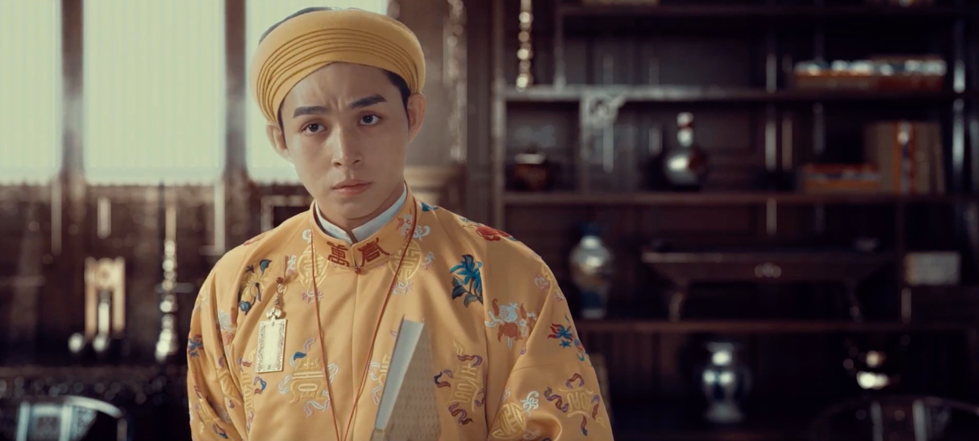 Actor Jun Pham portrays Emperor Tu Duc in Vietnamese palace historical drama 'Phuong Khau'.