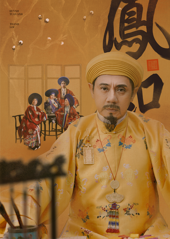 A promotional poster for Vietnamese palace historical drama 'Phuong Khau'