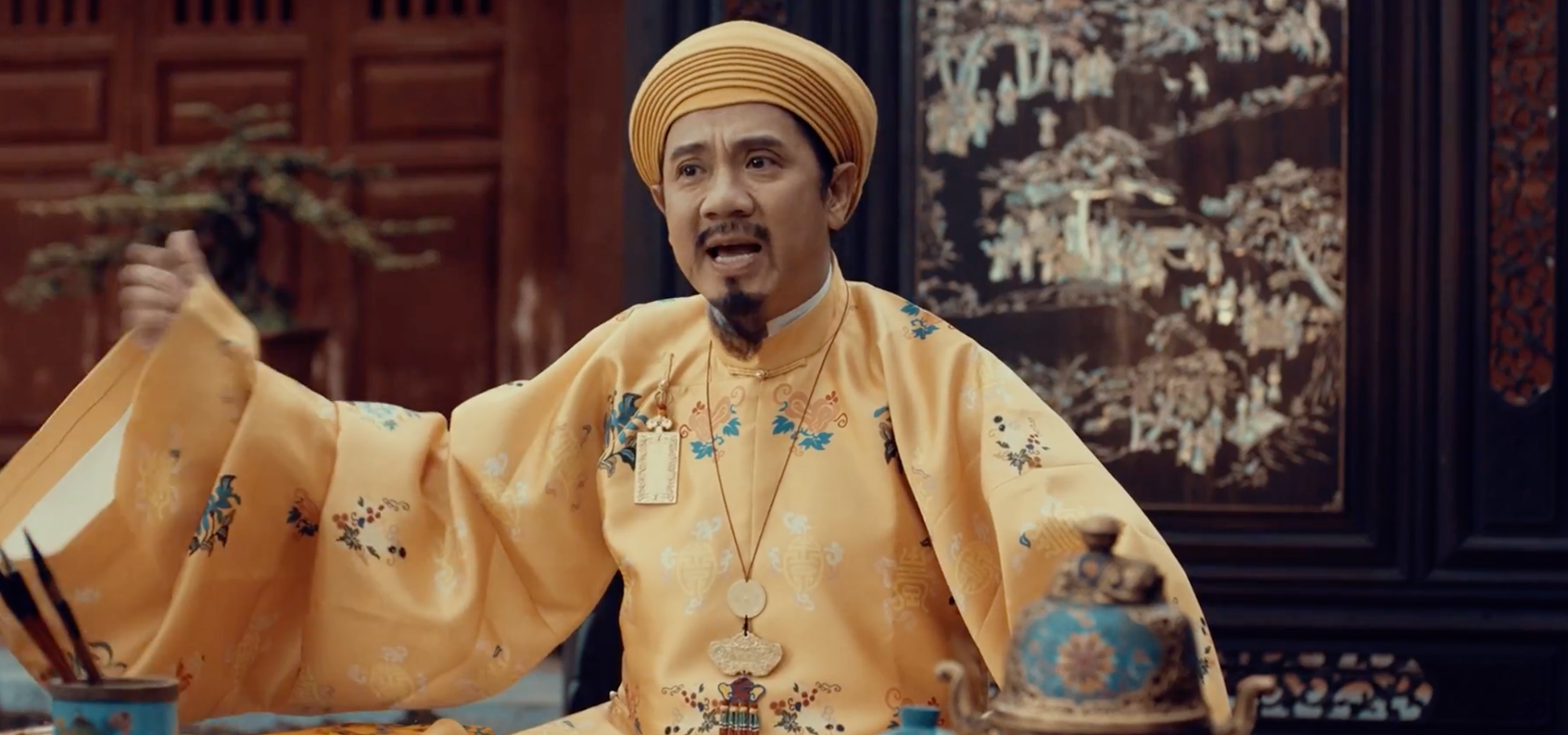 Actor Thanh Loc portrays Emperor Thieu Tri in Vietnamese palace historical drama 'Phuong Khau'.