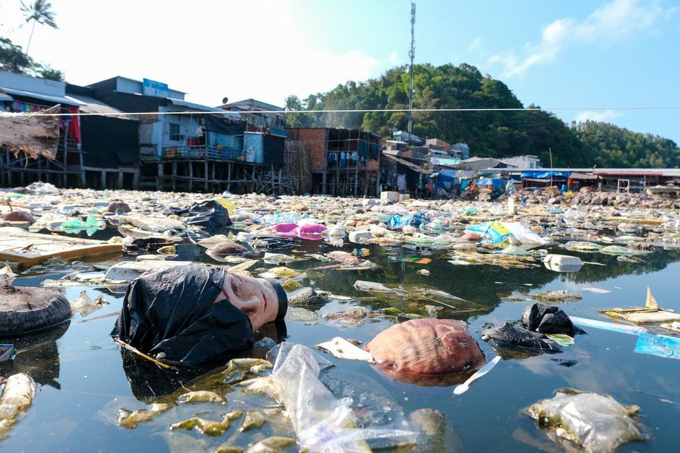 Vietnamese photographer sends out 'SOS' to protect environment via pollution exhibition