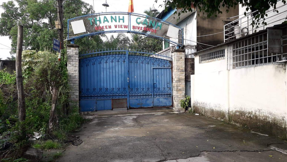 The entrance of Thanh Canh ecotourism site. Photo: Ba Son / Tuoi Tre
