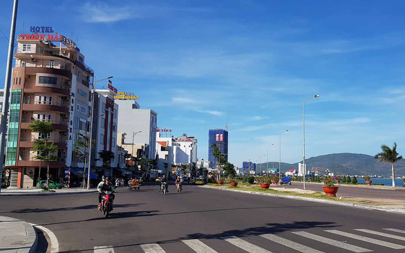 Xuan Dieu Street in Quy Nhon City, Binh Dinh Province, Vietnam. Photo: Duy Thanh / Tuoi Tre