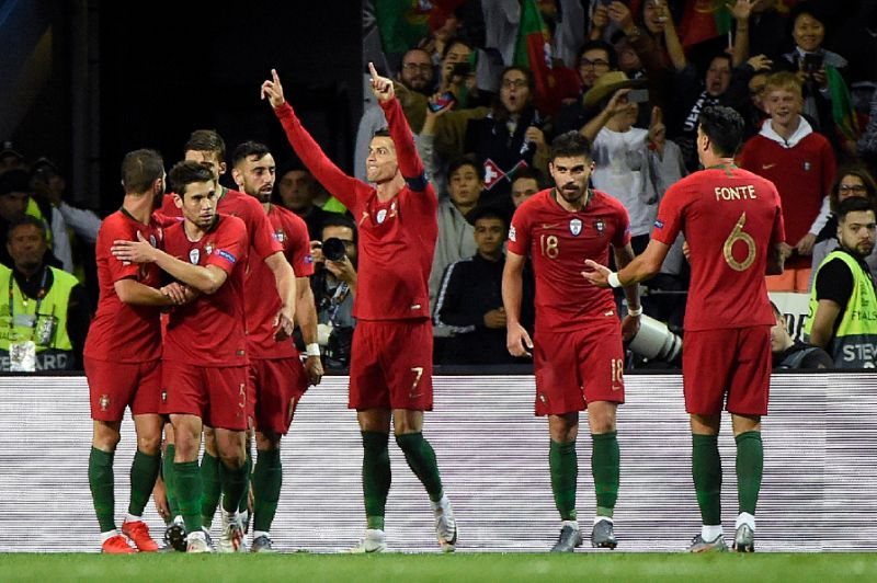 'Genius' Ronaldo hat-trick sends Portugal into Nations League final