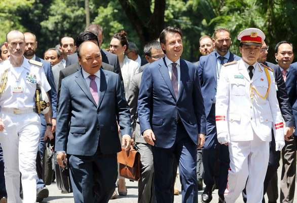 Italian PM Conte says Vietnam a leading partner in Southeast Asia