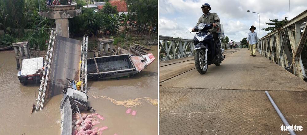 Vietnam province repairs collapsed bridge in 6 days