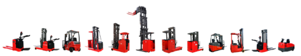MiMA develops a variety of forklift models