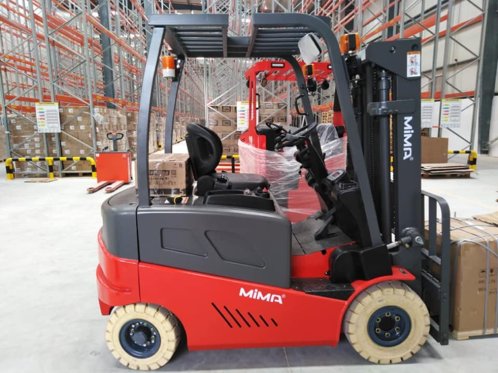 Why enterprises should use MiMA electric forklifts