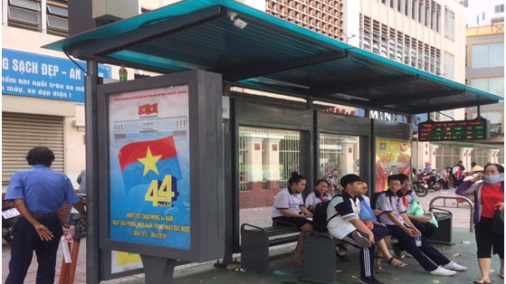 Ho Chi Minh City adds disabled-friendly bus stations fitted with surveillance cameras