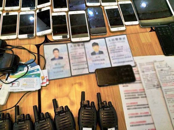 20 Chinese nabbed for carrying out high-tech scams in Ho Chi Minh City