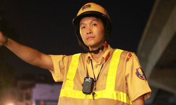 Vietnam starts fitting traffic police officers with body-worn cameras