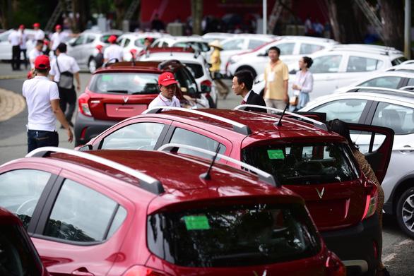Vietnam's first homegrown car manufacturer starts delivery of Fadil hatchbacks