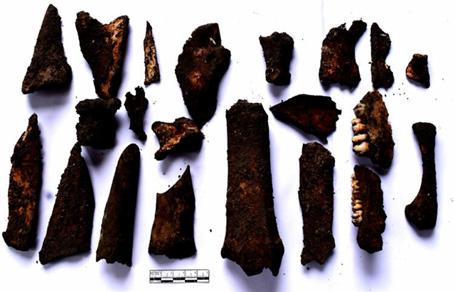 Millennia-old artifacts discovered in northern Vietnam