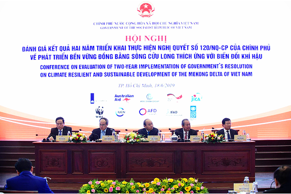 The conference in Ho Chi Minh City on June 18, 2019. Photo: Quang Dinh / Tuoi Tre