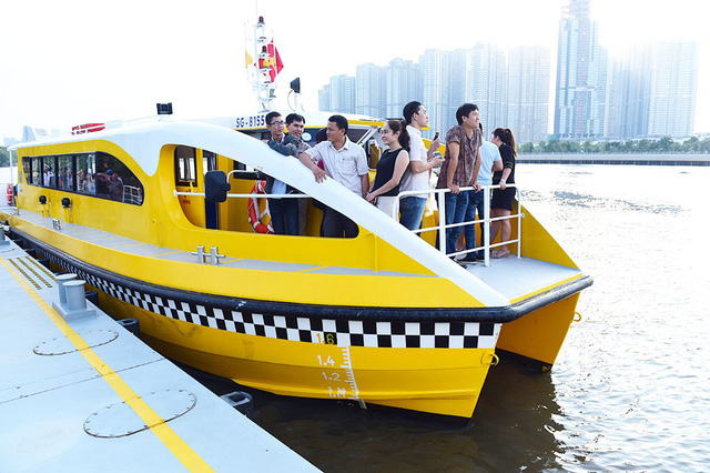 Water buses bring new opportunity for family trips in Ho Chi Minh City