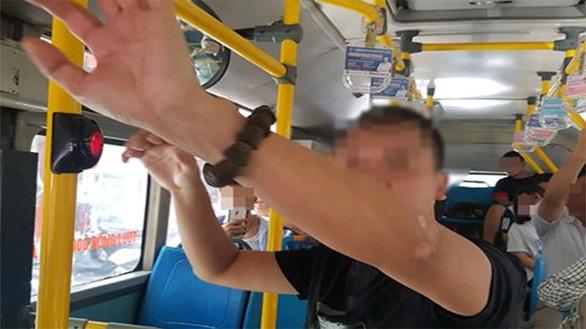 Man relieves self on schoolgirl's back during pleasure session on Hanoi bus