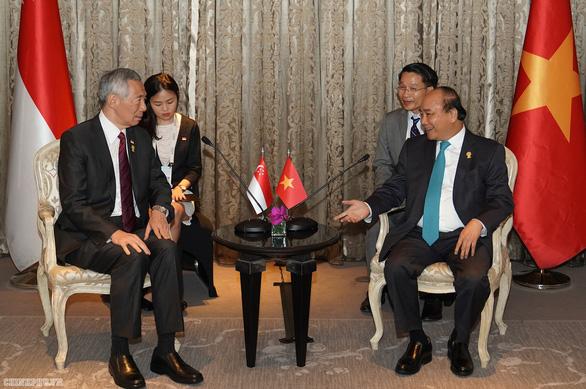 Vietnamese premier criticizes Singaporean PM's 'invasion' statement during bilateral talks