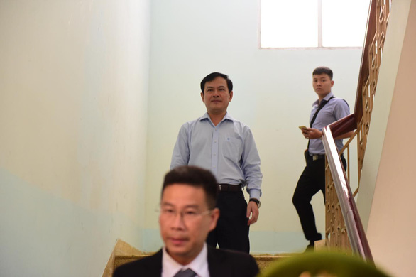 Nguyen Huu Linh is pictured after exiting the courtroom. Photo: Quang Dinh / Tuoi Tre