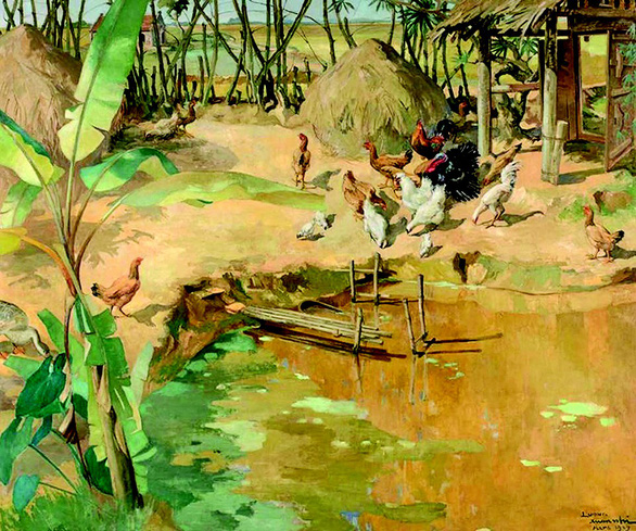 Vietnamese paintings auctioned for thousands of dollars in France