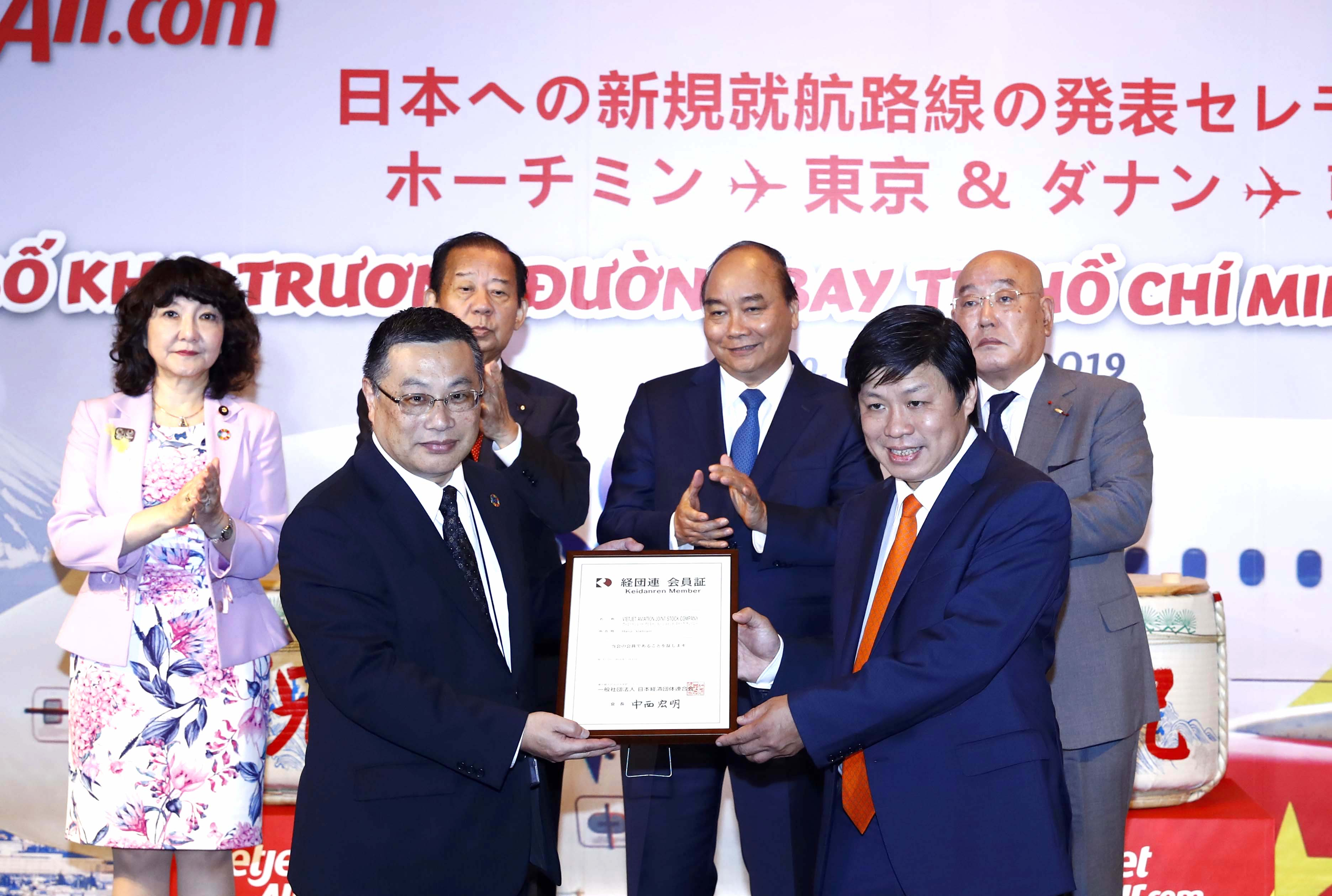 Vietjet launches new Japan services as carrier admitted to Japan Business Federation