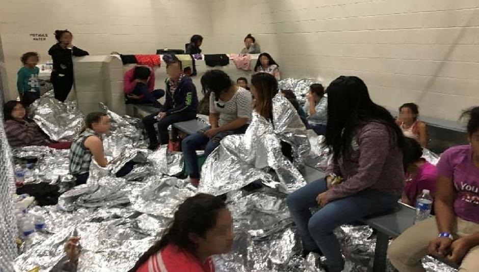 'Help, 40 days here': Photos show migrants crammed into U.S. border facilities