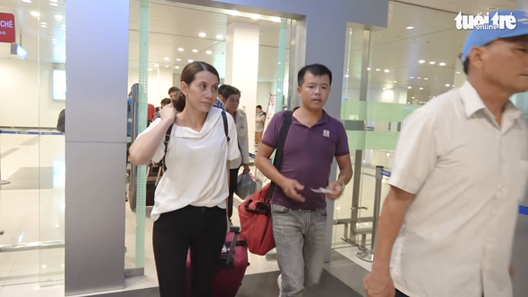 Nguyen Kim Hon leaves the Can Tho International Airport in Can Tho City, Vietnam on July 4, 2019. Photo: H.T.Dung / Tuoi Tre