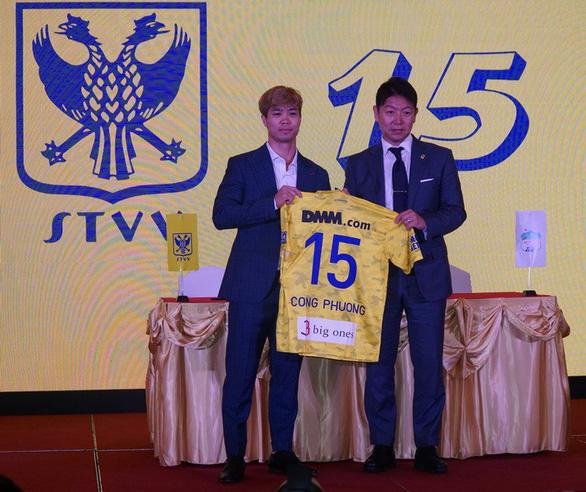 Vietnamese striker Nguyen Cong Phuong signs for Belgian league club