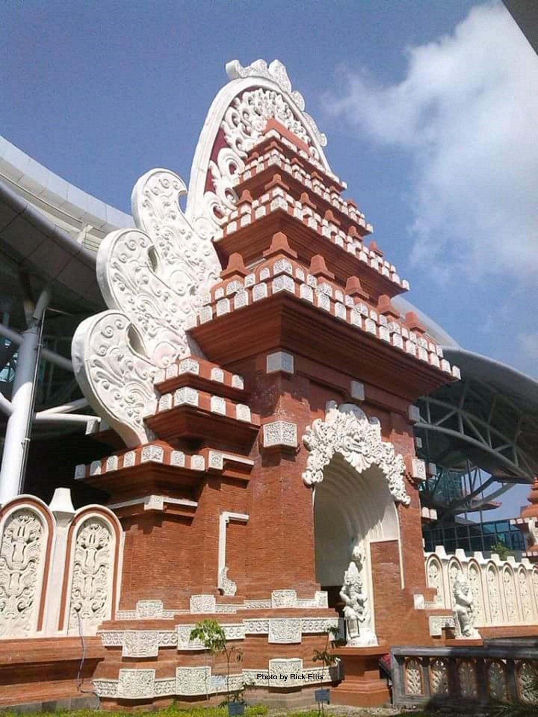 Ngurah Rai Airport in Denpasar