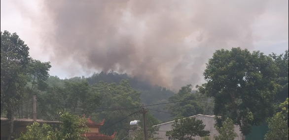 Wildfire breaks out again in north-central Vietnamese province