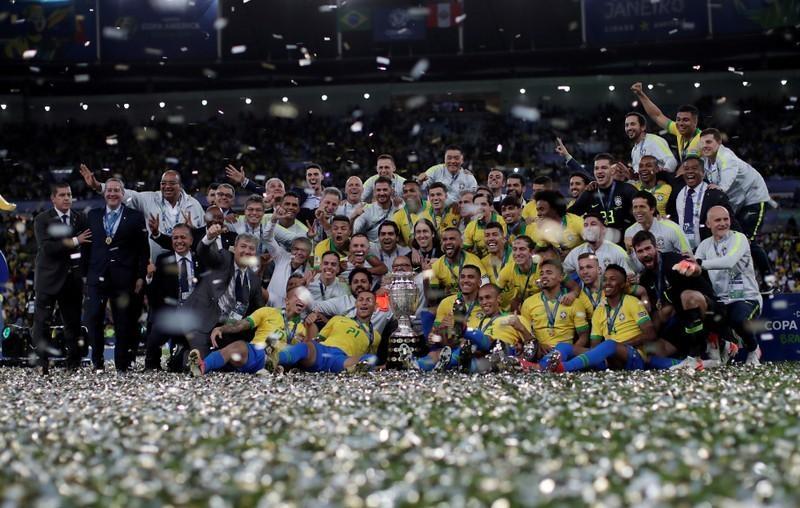 Jesus takes center stage as Brazil win Copa America