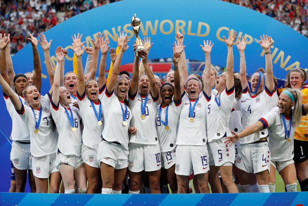 Trump praises U.S. on World Cup success after row with captain