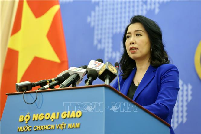 Vietnamese foreign ministry spokesperson Le Thi Thu Hang. Photo: Vietnam News Agency
