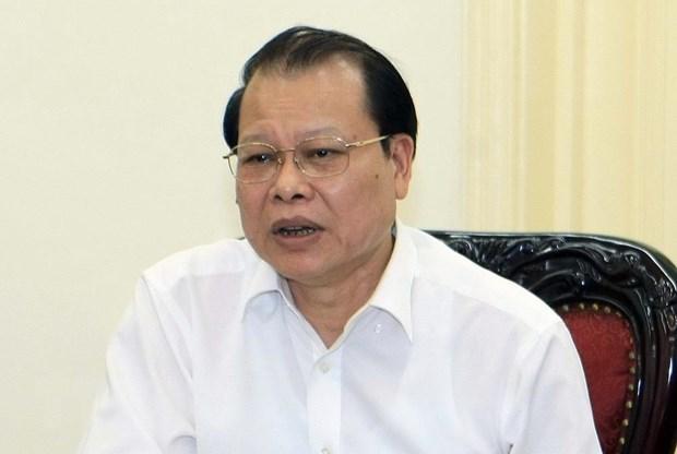 Vietnam's Politburo issues disciplinary warning against former Deputy PM