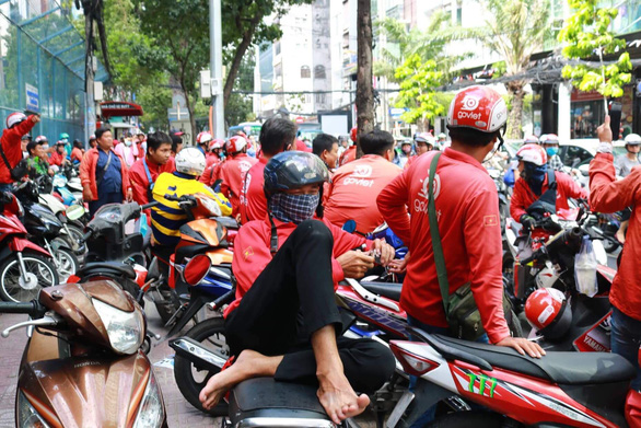 Go-Viet drivers strike as ride-hailing app revises bonus policy