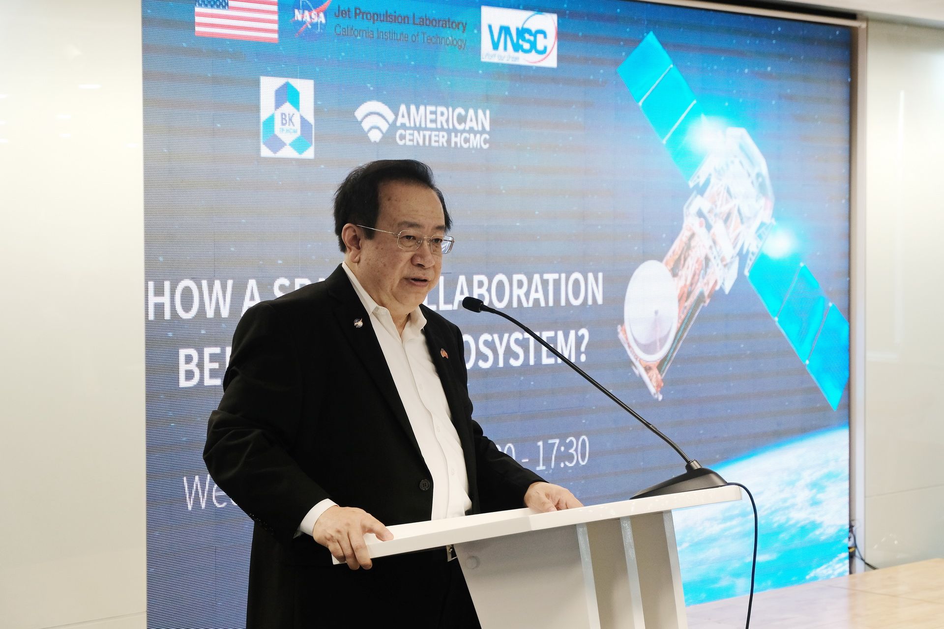 Space tech collaboration could benefit Vietnam's climate resilience: NASA scientist